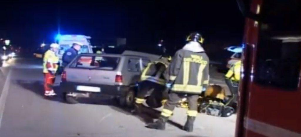 Incidente auto moto darfo