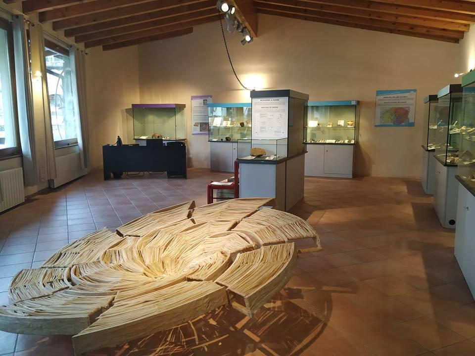 il Quasar Patrizia Bonardi nel Museo di Parre