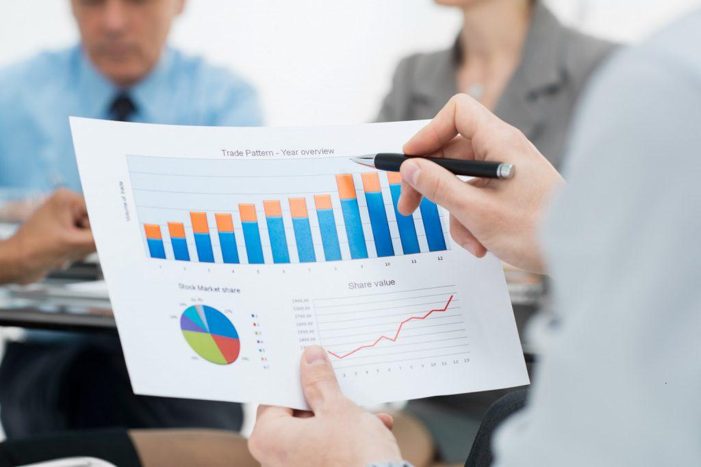 bilancio finanza grafico