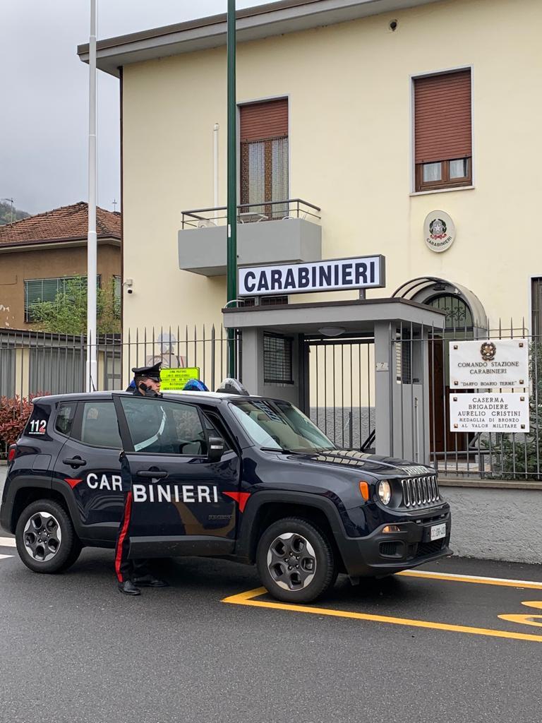 carabinieri darfo boario