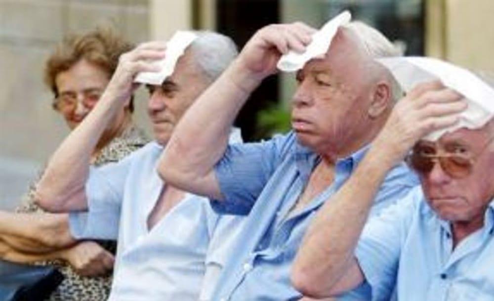 anziani e caldo