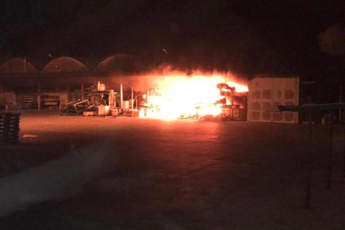 Incendio Azienda Pontevico