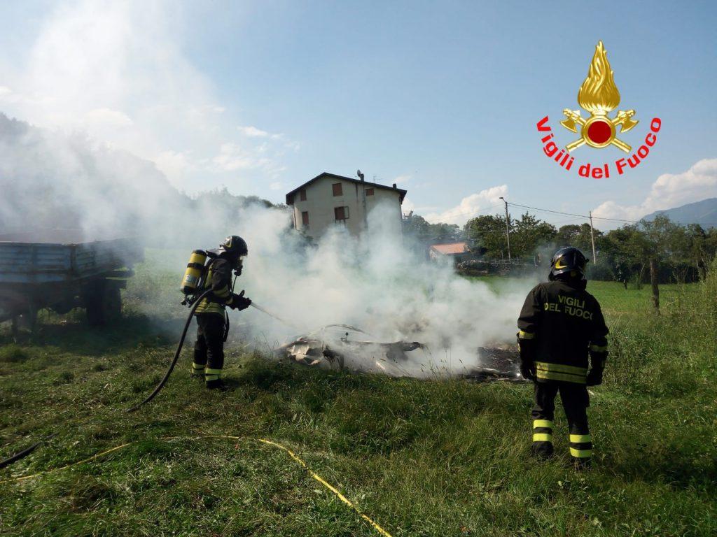 Incendio Darfo