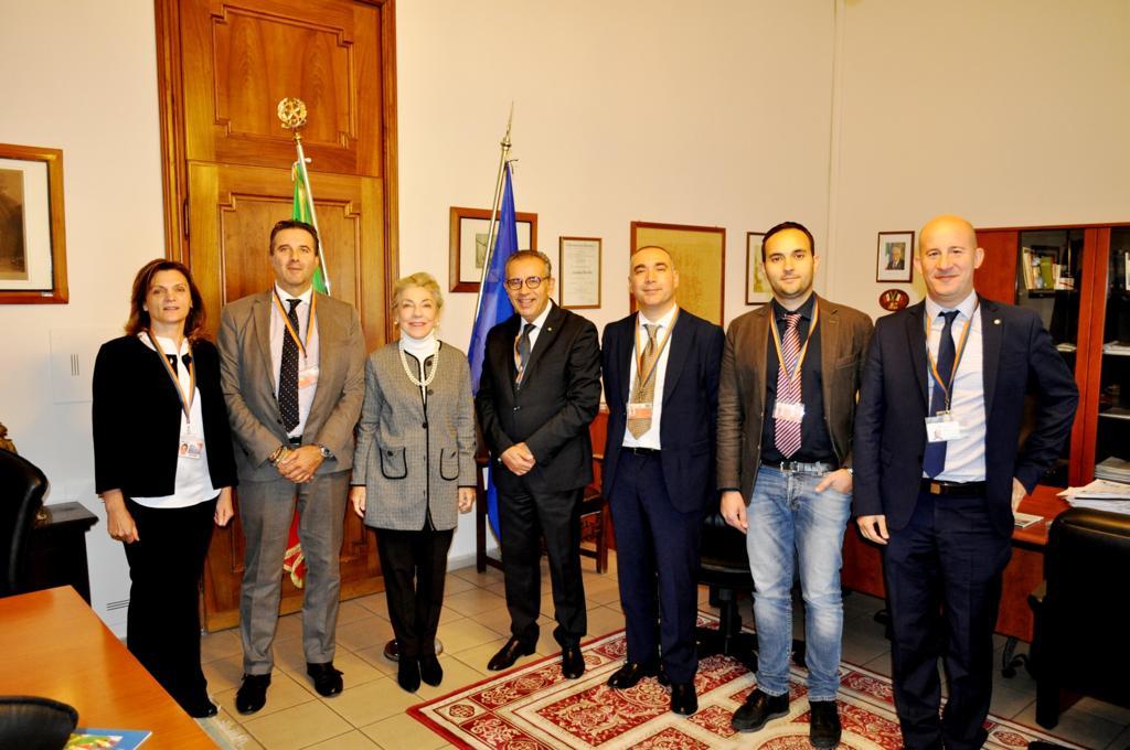 Visita del Prefetto di Bergamo