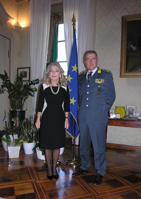 Prefetto Margiacchi e Gen. Screpanti