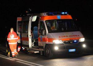 65 ambulanza notte