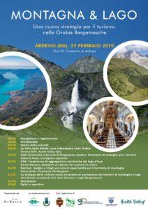 Montagna e Lago convegno 22 febbraio 2020