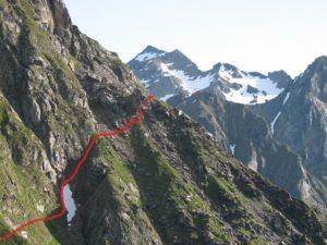 montagne sentiero