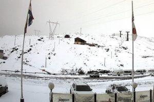 passo dello stelvio neve