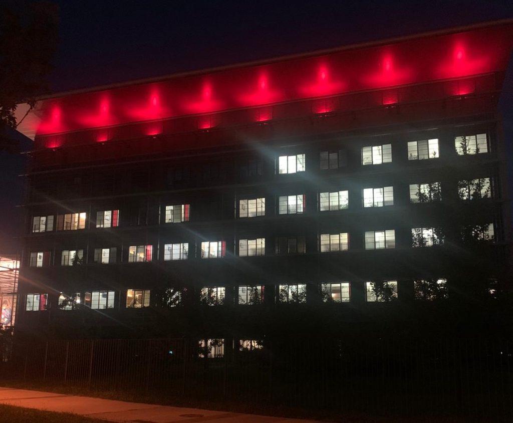 OspedalePapaGiovanniXXIII Illuminazione 1000 trapianto