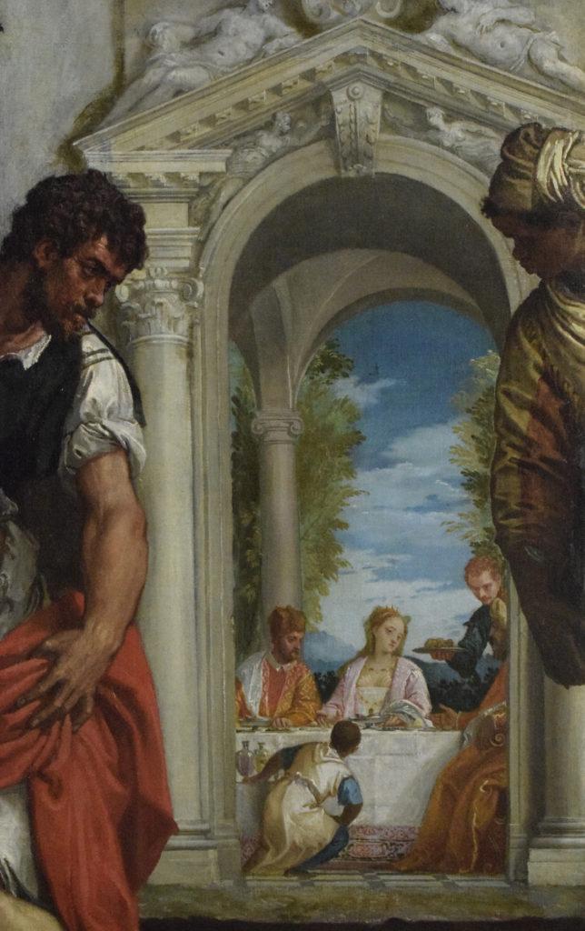 P. Veronese e bottega Decollazione del Battista parrocchiale di Dossena