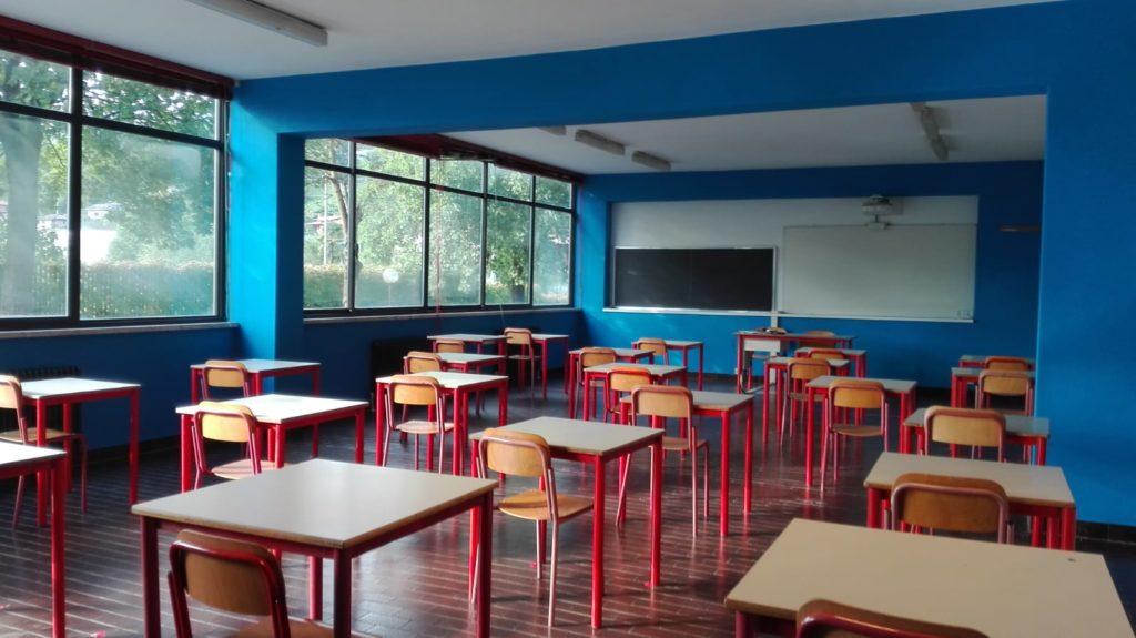 scuola aula 1