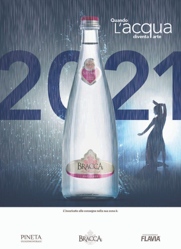 GruppoBracca Calendario2021 Copertina Rain Room