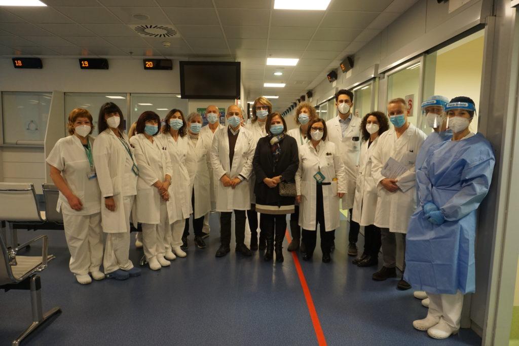 PG23 Dg Stasi con equipe somministrazione vaccino anti Covid