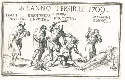 1709 acquaforte di Mitelli