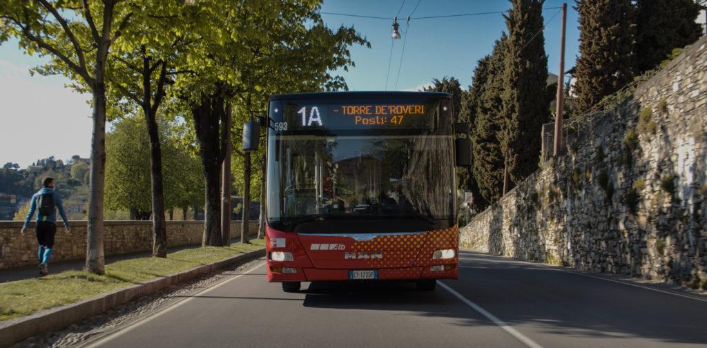 Display autobus contapasseggeri ATB