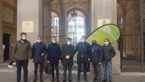 delegazione Confesercenti Bergamo incontra il Prefetto