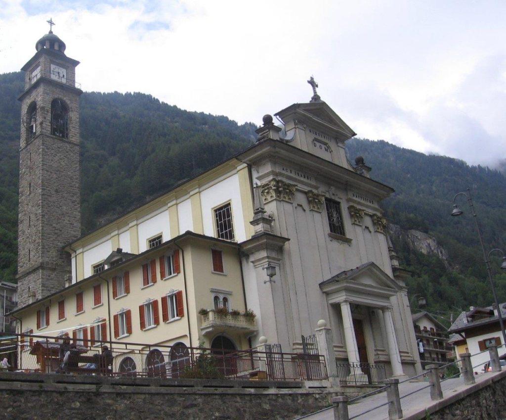 Carona chiesa della Nativita di San Giovanni Battista